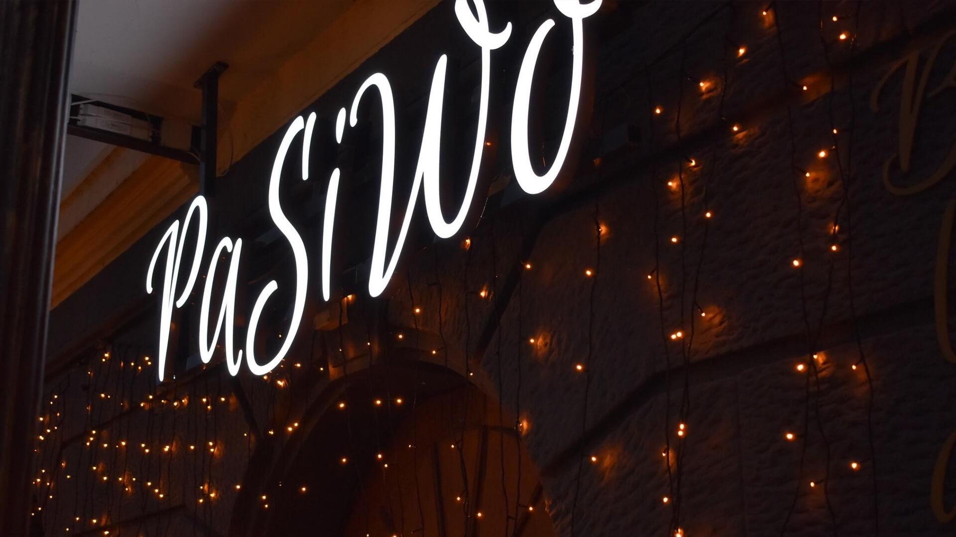 PaSiWo Home Leuchtlogo